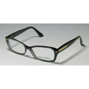 Dolce & Gabbana Eyeglasses DG 3176 2771 Black 52mm